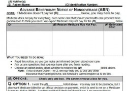 New Medicare Advance Beneficiary Notice ABN CMS-R-131 to be used by January 1, 2012