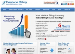 Medical Billing Company Website