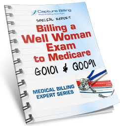 How to bill a Medicare Well Woman Exam