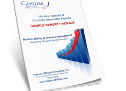 Medical Billing Monthly Financial A/R Report