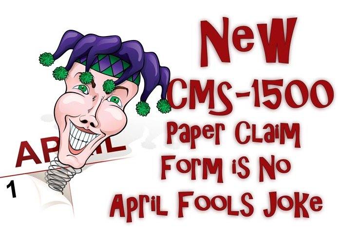 New CMS-1500 Paper Claim Form Version 02/12