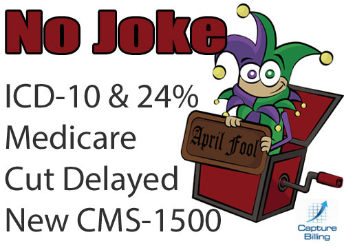 ICD-10 and Medicare Cuts Delay