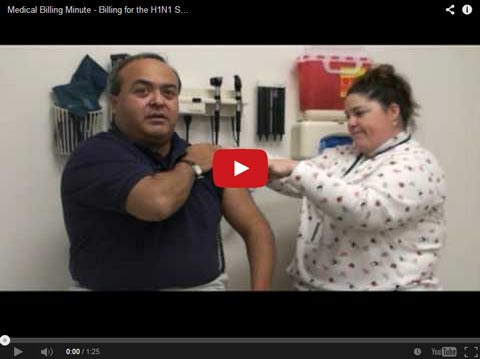 Medical Billing Tips: Billing for the H1N1 Swine Flu Vaccine