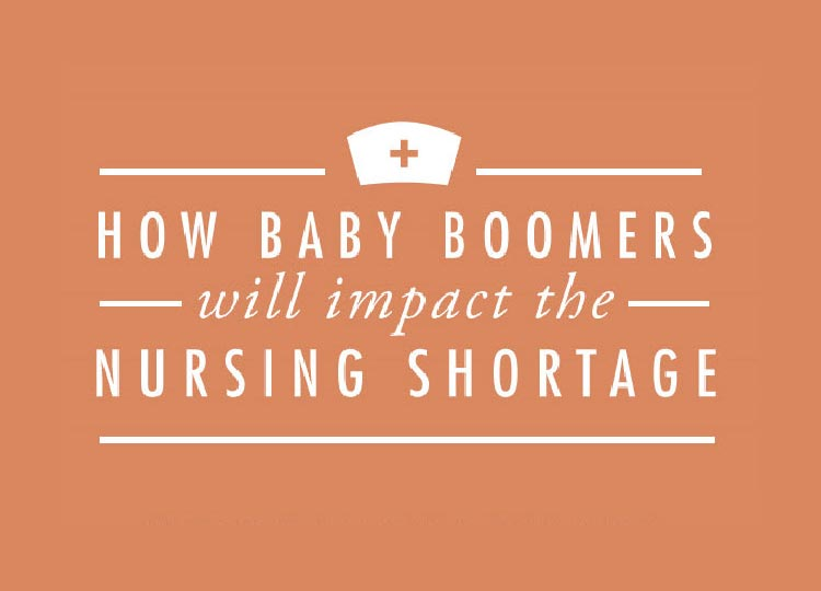 Infographic: How Baby Boomers Will Impact the Nursing Shortage