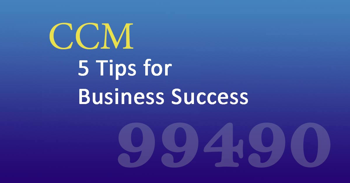 chronic care management  5 tips for billing success