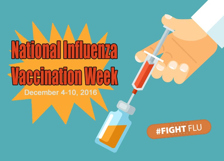 Fight Flu: It's National Influenza Vaccination Week! #NIVW2016