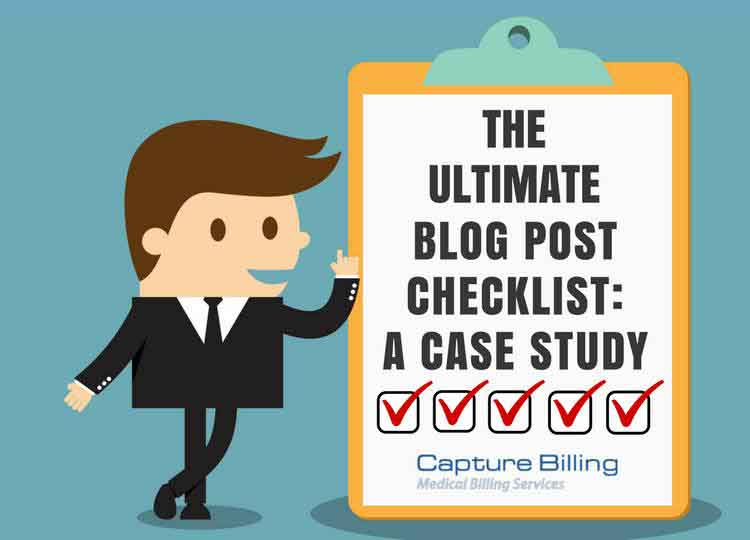 The Ultimate Blog Post Checklist: A Case Study